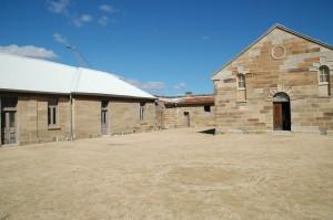 Gefängnisgebäude auf Cockatoo Island