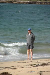 Frank am Jibbon Beach