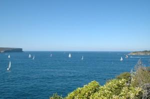North Head und South Head bilden die Hafeneinfahrt