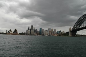 Oper, CBD und Hafenbrücke