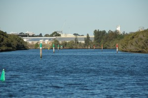 Auf dem Parramatta River unterwegs