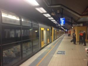 Zug der South Coast Line