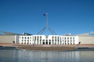 Das Parlament auf dem Capital Hill