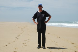 Frank am Ninety Mile Beach