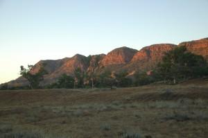 Heysen Range im Morgenlicht