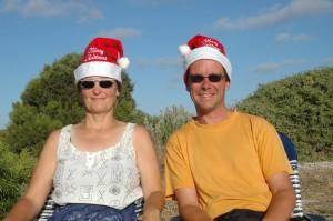 Australische Weihnachtsmenschen