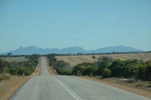 Stirling Range aus der Entfernung