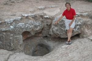 Caiguna Blowhole: kalte Luft aus der Höhle