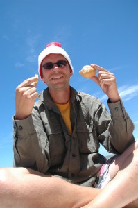 ... am Strand in Whyalla