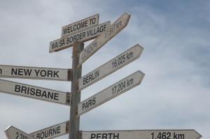 An der Grenze nach Westaustralien