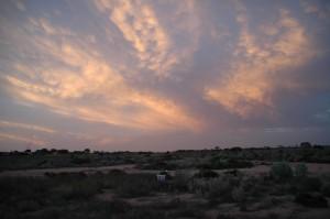 Wolken statt Böller: Silvester in der Nullarbor