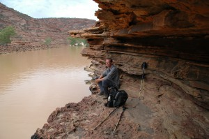 Wanderpause am Murchison River