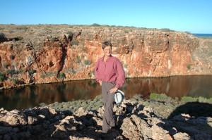 Wandern im Cape Range Nationalpark: wir wandern schon vor Sonnenaufgang los, es wird sonst zu heiß