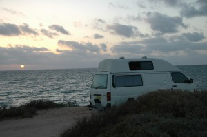 Camping in Shark Bay