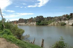 Fitzroy River in der Schlucht