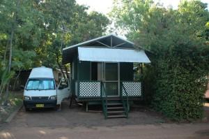 Unsere Cabin in Kununurra