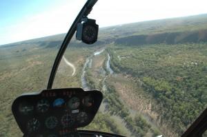 Blick auf den Katherine River