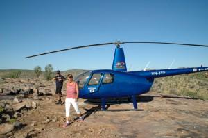 Landung in der Wildnis