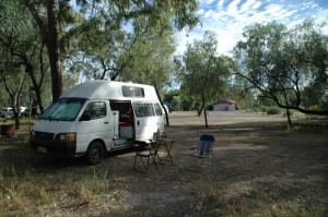 Camping am xxx weir
