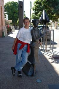 Elke und Mary Poppins