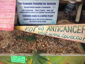 Schaufenster in Nimbin