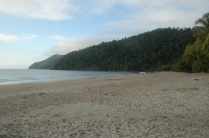 Die schöne Bucht von Etty Bay