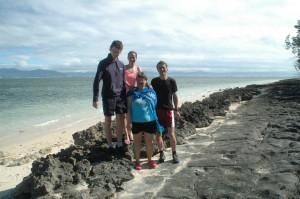 Während der Inselumrundung