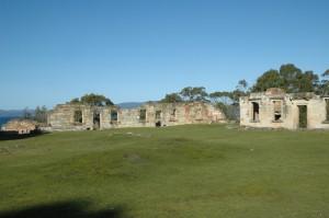 Ruinen der Strafkolonie