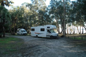Camping an den Myall Lakes