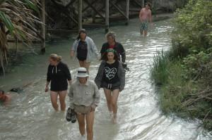 Wandern im Eli Creek
